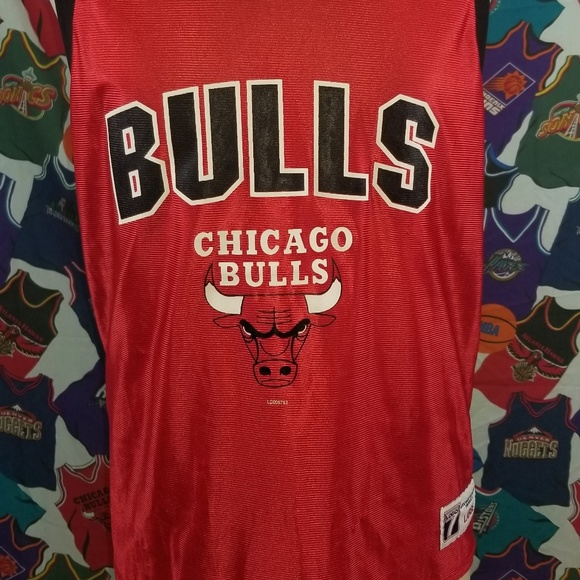reputable site 303fb ac350 chicago bulls vintage Jersey